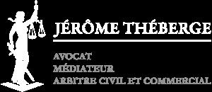 Logo JT avocat blanc