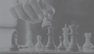 Banniere stratégie grise